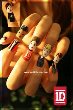 One Direction nials lovely ♡