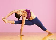 Visvamitrasana (Visvamitra's Pose). Learn how: www.yogajournal.com/practice/2149