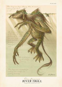Graexc_17855942_9780689859410.in07 Mythical Creatures Art, Mythological Creatures, Magical Creatures, Fairytale Creatures, Fantasy World, Fantasy Art, Dark Fantasy, Spiderwick, Creature Concept