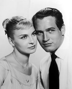 """Paul Newman and Joanne Woodward, """"""""The Long Hot Summer"""", 1958"""