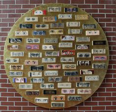 the eye project by t i m o, via Flickr: would be a wonderful project for seniors/ap students to leave behind for future classes/generations