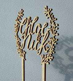 Personalized cake topper with bride and by WoodbelovelyShop
