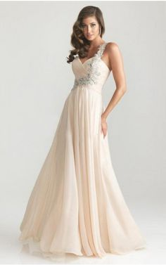 Fashion HOT New Arrival Vestidos De Festa Robe De Soiree One Shoulder Applique Chiffon Formal Long Evening Dresses 2017 dresses Prom Dresses 2015, Bridesmaid Dresses, Formal Dresses, Wedding Dresses, Cream Bridesmaids, Prom 2014, Graduation Dresses, Formal Prom, Pretty Dresses