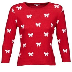 The perfect cute Christmas jumper from Kling! Free delivery on @spartoouk #womens #holiday #winter #christmas #fashion #outfit #jumper #red #kling #uk