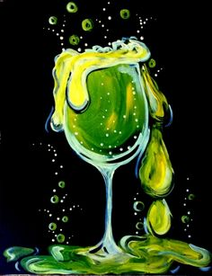 Paint Nite. Halloween Happy Hour