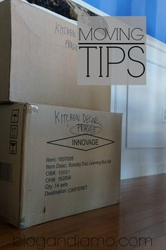 moving tips by an amateur. more to come later. Re-pinned by www.sodacitymovers.com