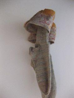 brigittesquartier ;_) gestrickte Socken mit gefilztem Abschluß