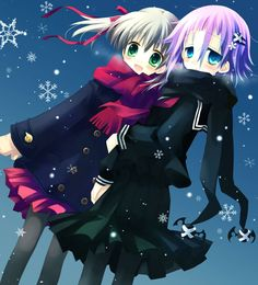 """Maka x crona ok you might say I turn everything they do into """"oh my gosh they like each other"""" but that's everybody who ships"""