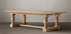 """1930s French Farmhouse Extension Dining Table 96""""W x 46""""D x 30""""H; extends to 132""""L with two 18"""" leaves"""