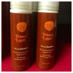France Laure has a phenomenal new Sunless Self Tanning Mousse! Works great on both your face and body! This product allows for gradual tan without the harmful effects of UV Rays! You can check it out on our professionals only site!