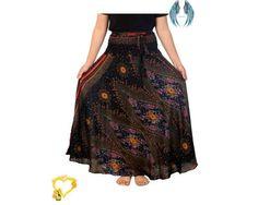 Women's Long Black Maxi Skirt  Bohemian Gypsy Hippie | Etsy Women's Long Black Maxi Skirt Bohemian Gypsy Hippie | Etsy<br> Hippie Style Clothing, Boho Fashion, Fashion Outfits, Plus Size Skirts, Long Maxi Skirts, Black Maxi, Bohemian Gypsy, Festival Wear, Long Black