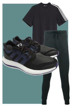 """Pai Acrtivewear 2"" by theogm on Polyvore featuring Y-3, men's fashion and menswear"
