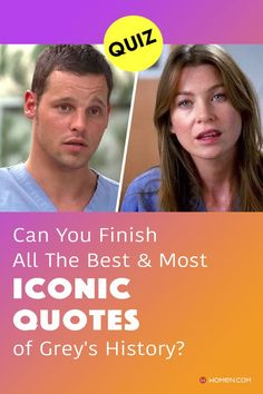 This trivia quiz will test your knowledge on how well you remember the most iconic Grey's Anatomy quotes over the past seventeen seasons. #GreysAnatomy #greysquotes #greysquiz #greysnostalgia #greysAnatomyTrivia #greys #shondaland #greysLove #greysrandomQuiz #greysFan #meredithgrey #shonda #QuotesofGrey #GreysAnatomyQuotes