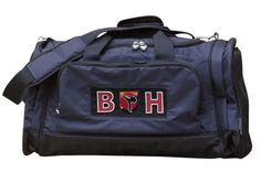 With grip handles, over the shoulder strap, and useful compartments, our sports bag is easy to carry, and very stylish. It is fully lined with an easy access zipped opening. The wide cotton canvas det. Gifts For Sports Fans, Personalized Gifts For Kids, Have Metal, Cotton Canvas, Martial Arts, Gym Bag, Shoulder Strap, Wallet, Stylish