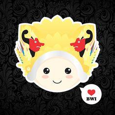 chibi gandrung by oddzoddy on DeviantArt Harry Potter Calendar, Chibi, Hello Kitty, Deviantart, Artwork, Character, Work Of Art