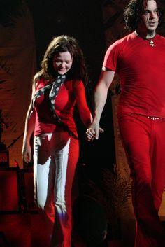 M J Meg And Jack White The Stripes