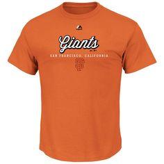 San Francisco Giants Majestic Like a Movie T-Shirt - Orange - $24.99