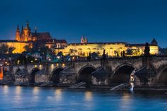 Beautiful view of Prague, Czech Republic.