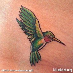 tattoo hummingbird small - Google Search