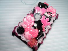 Glam Girl Hello Kitty Kawaii Decoden Deco Case for by Lucifurious, $32.00