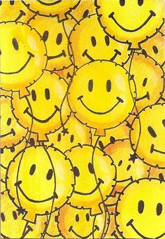 Smiley Balloons by ~zelizzel on deviantART