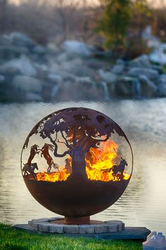 """Explore our web site for additional information on """"outdoor fire pit"""". It is actually an outstanding spot to get more information. Fire Pit Bbq, Fire Pit Ring, Cool Fire Pits, Garden Fire Pit, Diy Fire Pit, Fire Pit Sphere, Fire Pit Gallery, Custom Fire Pit, Parks"""