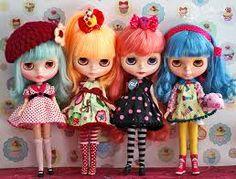 Gorgeous Blythe dolls