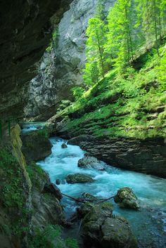 Breitachklamm, Breitach gorge, Germany