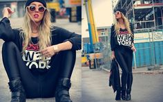 Wazzup (by Joanna Johansson) http://lookbook.nu/look/4186560-wazzup