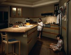 Jeff Wall, Jell-O (1995) Edition of 2 + 1 AP, transparency in light box, 143.5 x 180 cm