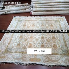 260L wool silk mixed carpet  #carpet#carpets#rug#rugs#persiancarpet#persiancarpets#persianrug#persianrugs
