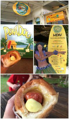 Puka Dog, Kauai.