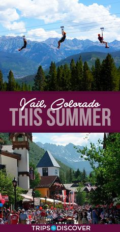 7 Best Things to Do in Vail, Colorado This Summer Colorado Springs, Denver Colorado, Avon Colorado, Beaver Creek Colorado, Road Trip To Colorado, Visit Colorado, Colorado Hiking, Colorado In The Summer, Colorado Mountains