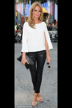 Millie Mackintosh - great sleeve on this blouse