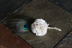 Handmade Cream Sola Balsa Wood Flower Wedding by etre618 on Etsy, $6.00