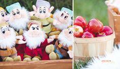Snow White Themed First Birthday First Birthday Parties, First Birthdays, Snow White Cake, Make Your Mark, Cake Smash, Bee, Teddy Bear, Christmas Ornaments, Toys