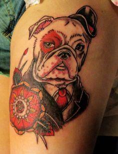 #Kamila #Yakuza #Tattoo #Dog #YakuzaTattooStudio #TattooKonwent #wLublinie