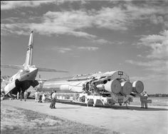 https://flic.kr/p/zuuSA9 | Atlas Negative Collection Image | PictionID:44036039 - Catalog:14_009949 - Title:Atlas 6F  Details: Arrival and Unloading by Air Force of Atlas Missile 6F  Date: 12/02/1961 - Filename:14_009949.TIF - - -   -   - Image from the Convair/General Dynamics Astronautics Atlas Negative Collection---Please Tag these images so that the information can be permanently stored with the digital file.---Repository: San Diego Air and Space Museum