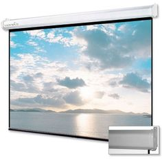 "http://www.tigerdirect.com/applications/SearchTools/item-details.asp?EdpNo=1597763=23   Ultra 100"" Diagonal 16:9 Manual Projection Screen - White Case   79.00"