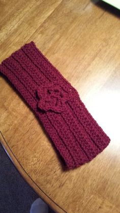 Ear warmer to go with Sienna's scarf.