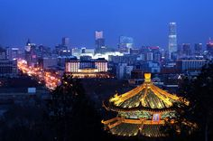 4-Hour Private Beijing Night Tour With Imperial Dinner Inclusive This tour will show you the different side of Beijing. You will enjoy a Imperial Cuisine dinner at the famous Fangshan restaurant located in Beihai Park (800 years history). You will also visit Jingshan Hill, the highest point along the central axis of Beijing, to have a panoramic view of the Forbidden City, Beihai Park, and Old Beijing Hutongs. Moreover, in Lotus Market area, walk around Houhai Lake and Yandaixi...