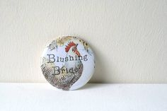 Vintage Style Hen Party Badge