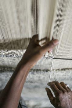 Husk Weave - Mist | Armadillo & Co