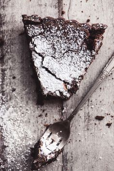 Flourless Belgian Chocolate Cake | The View from Great Island