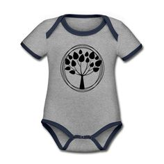 Geschenke Shop   Lebensbaum - Baby Bio-Kurzarm-Kontrastbody Baby Outfits, Kind Mode, Babys, Onesies, Kids, Clothes, Fashion, Kid Games, Baby Coming Home Outfit