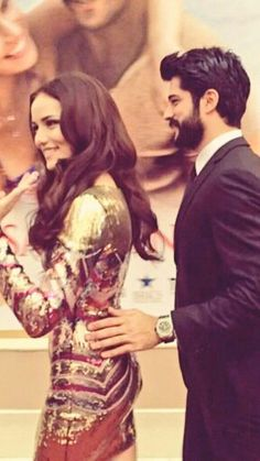 fahriye evcen burak ozcivit... I am glad they are happy in real life because in Love Bird not so much