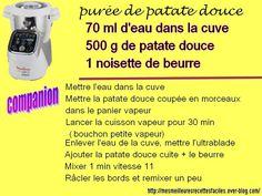 On peut aussi cuire la patate douce à l'autocuiseur 13 min (cookéo)