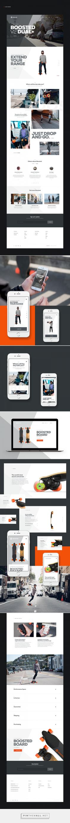 Boosted Board Web Site