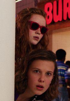 #StrangerThings3 - Max & El #Millie #SadieSink (Source: Netflix)