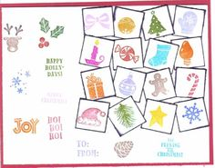 Holiday Sampler Gallery Index by galleryindex - Cards and Paper Crafts at Splitcoaststampers